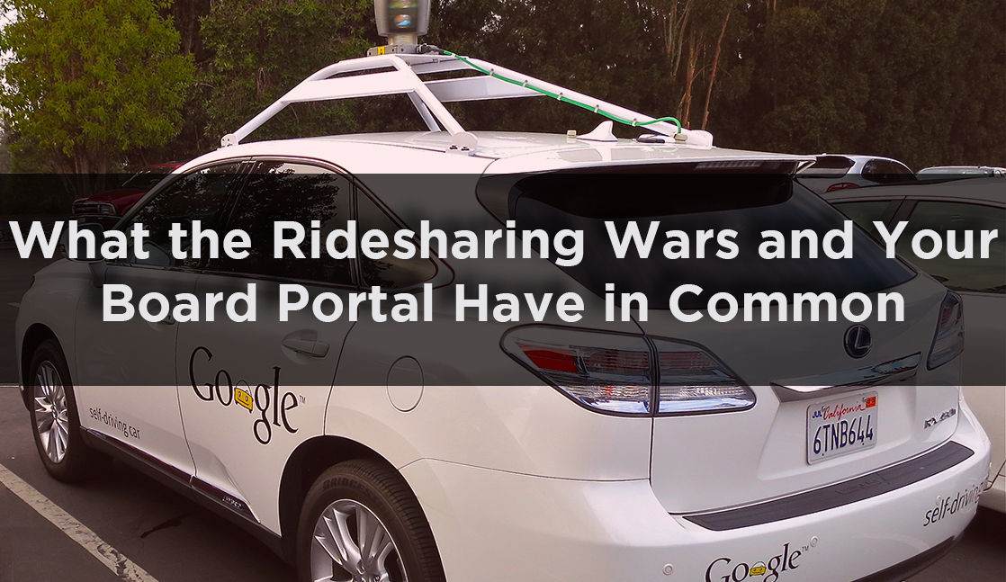 Ride Sharing Wars akin to Board Portals