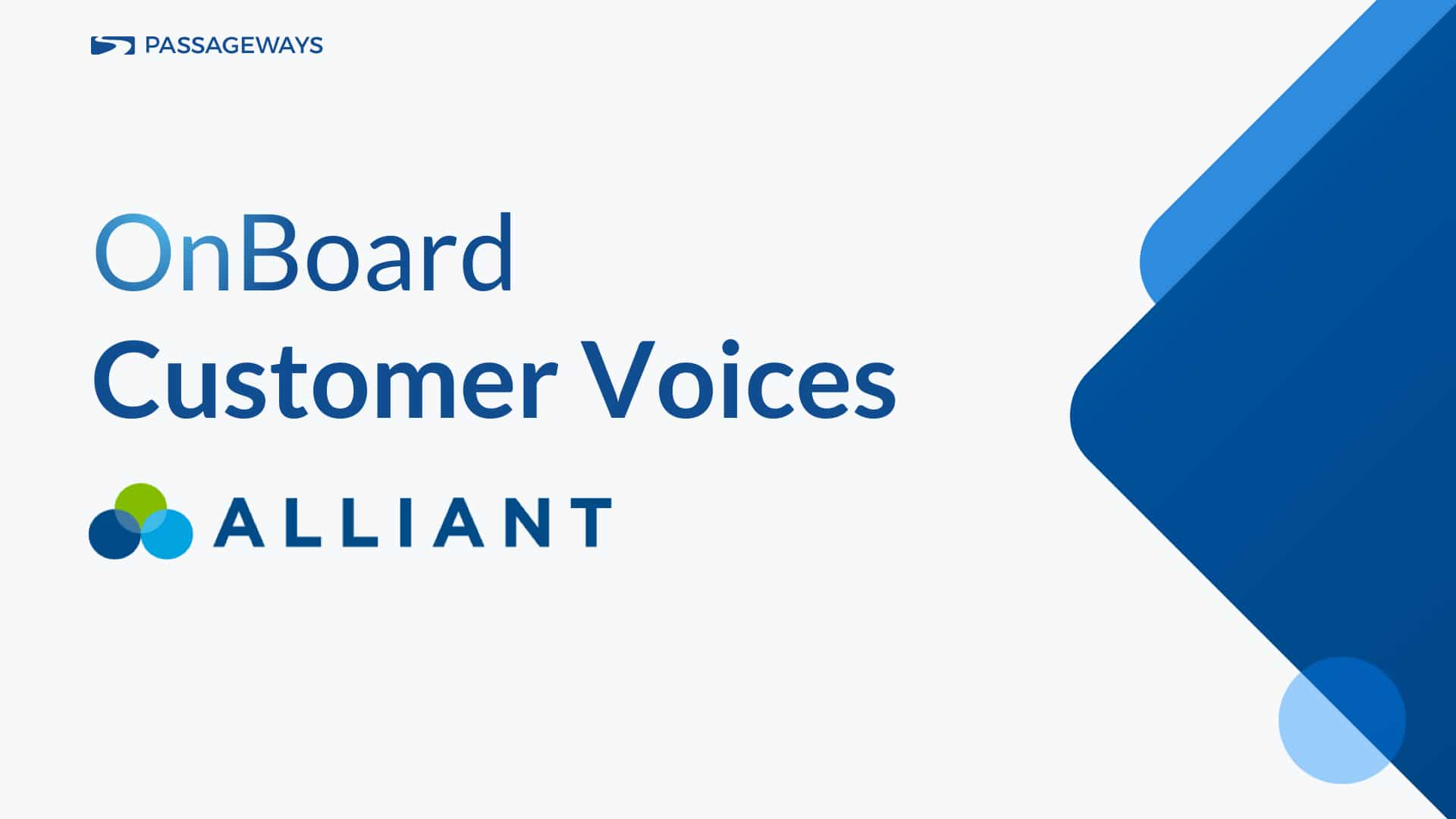 Customer Voices Alliant