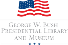 bush library and museum logo