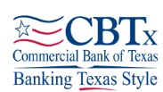 Commerical Bank of Texas Logo