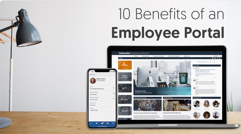 10 Benefits of an Employee Portal