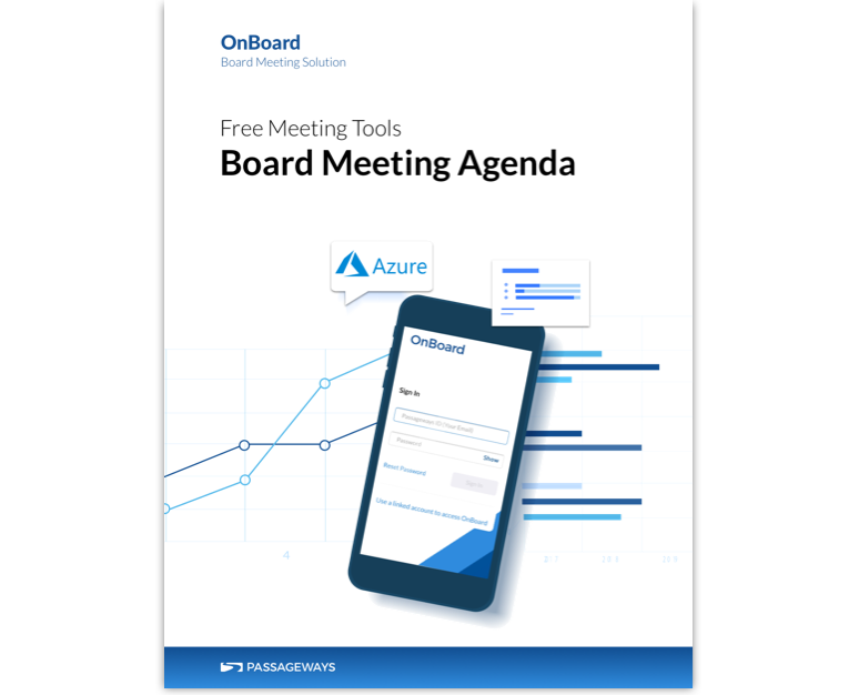 Free Tool Board Meeting Agenda