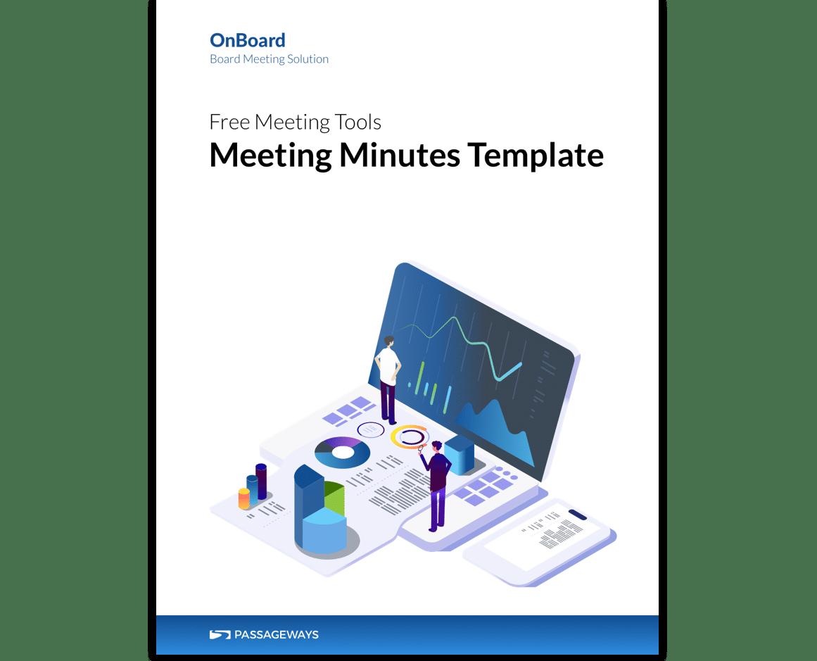Free Board Meeting Tools Board Minutes Agenda Templates