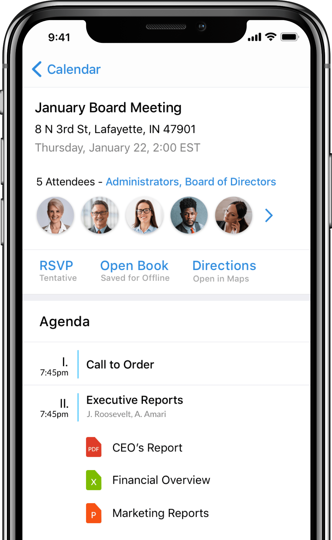 OnBoard Agenda Accessible Board Meeting Software