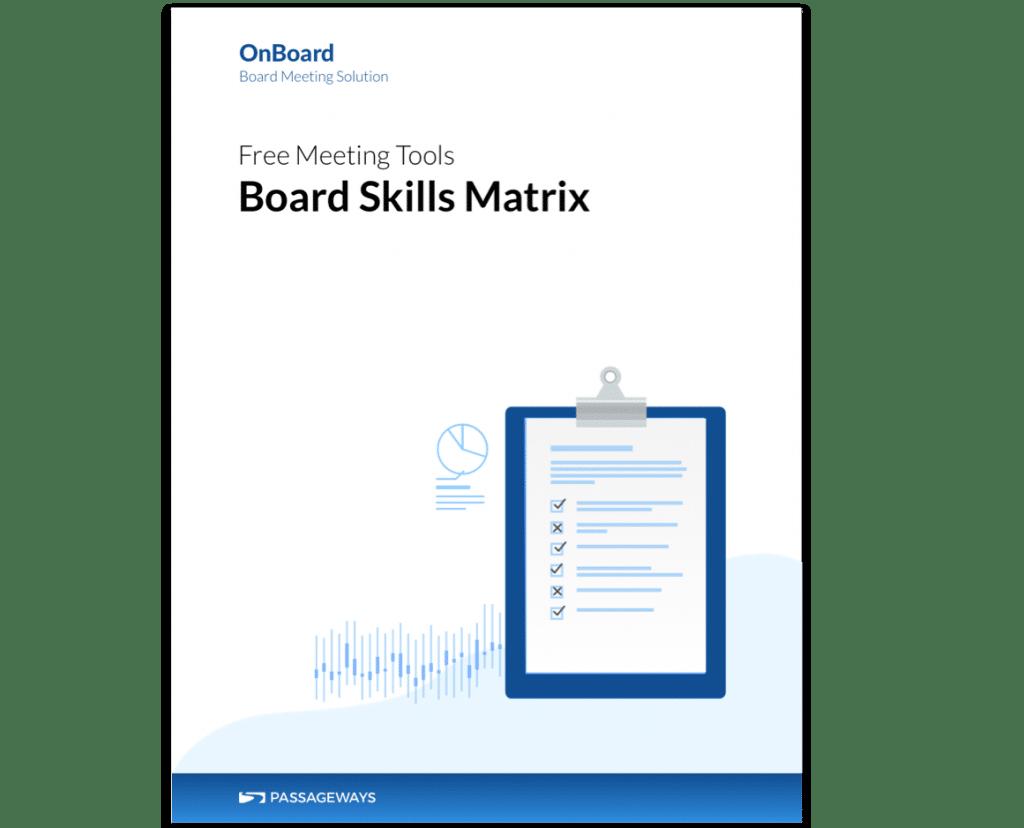Board Skills Matrix