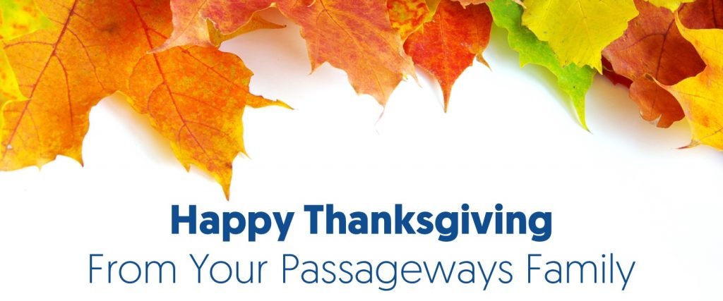 Passageways Thanksgiving
