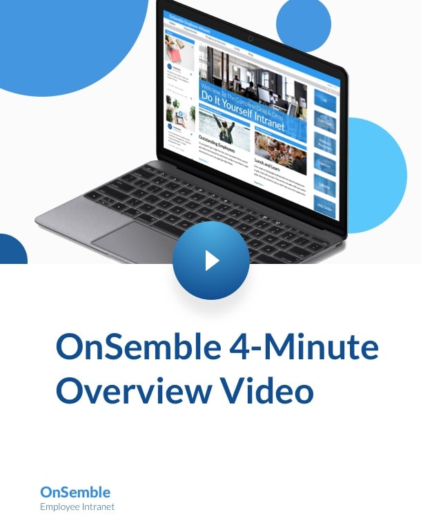4 Minute Demo Video OnSemble