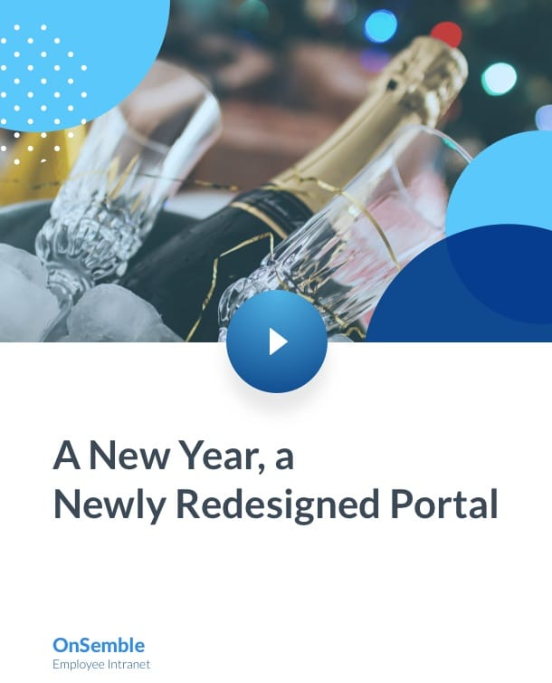 A New Year a Newly Redesign Portal