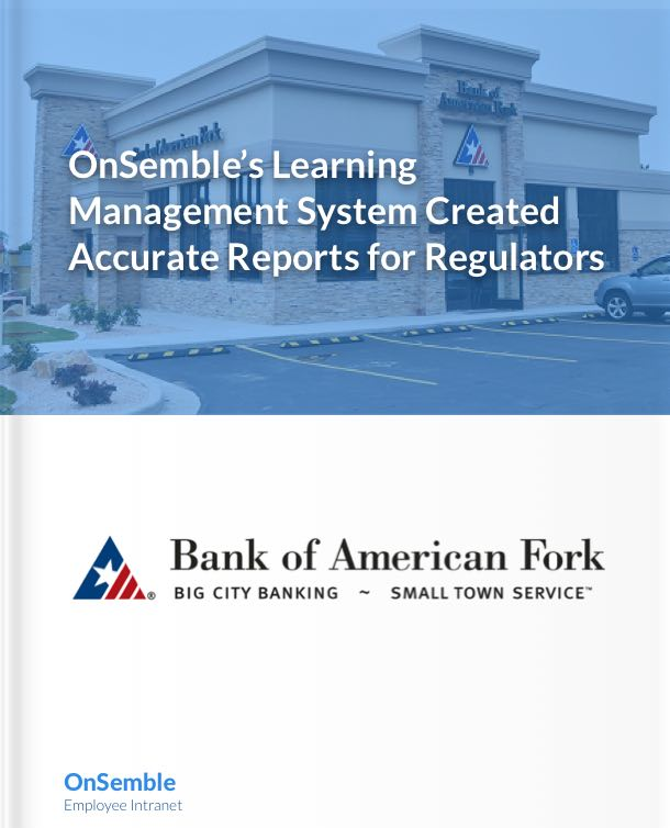 Bank of American Fork Case Suty