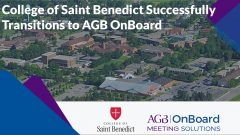 College of ST Benedict Large