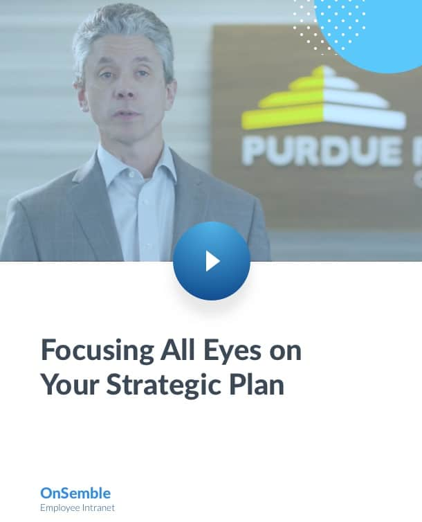 Focusing All Eyes on Your Strategic Plan