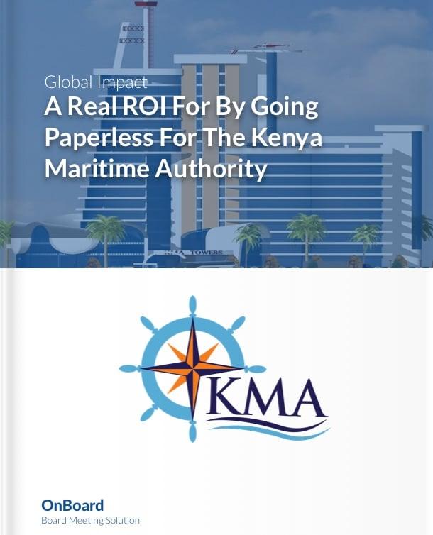 Kenya Maritime Authority Case Study