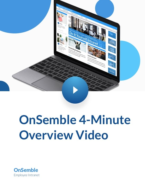 OnSemble overview Video