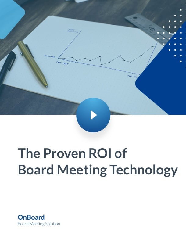 Proven ROI of Meeting Technology:
