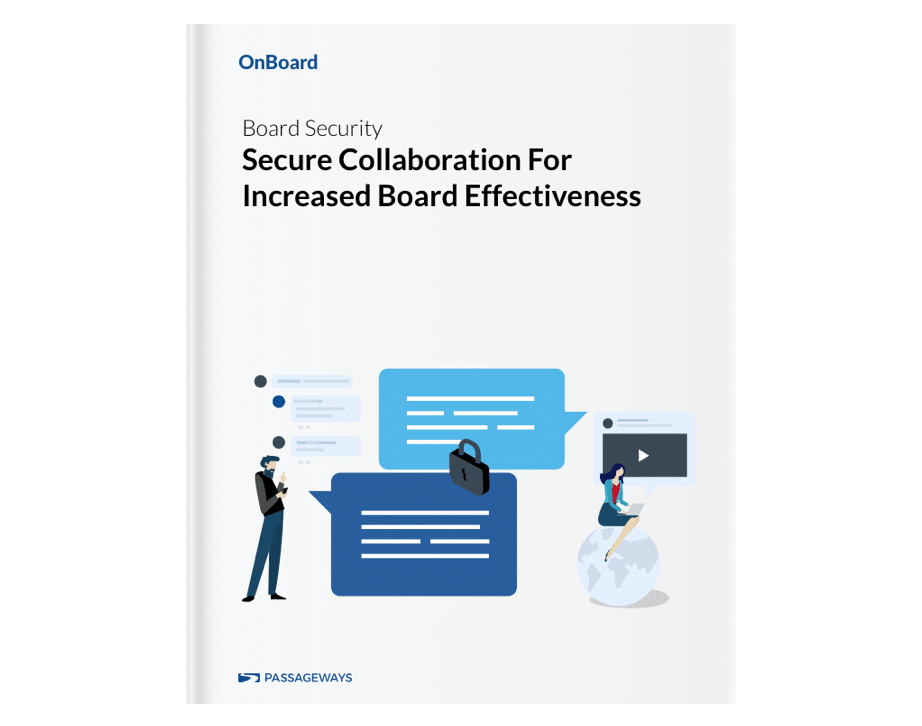 Secure Collaboration For Board Effectiveness Cover