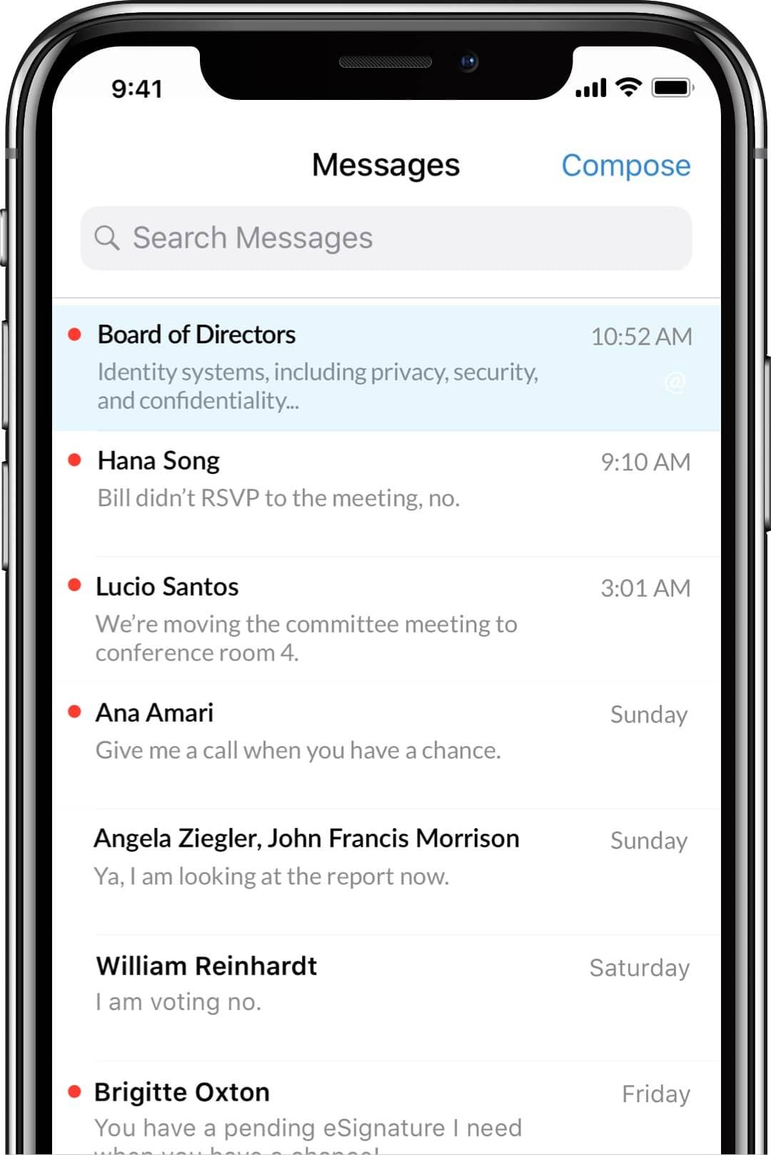OnBoard Messenger Secure