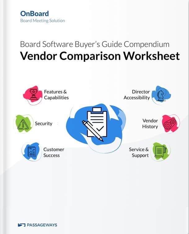 Vendor Comparison Compendium 3