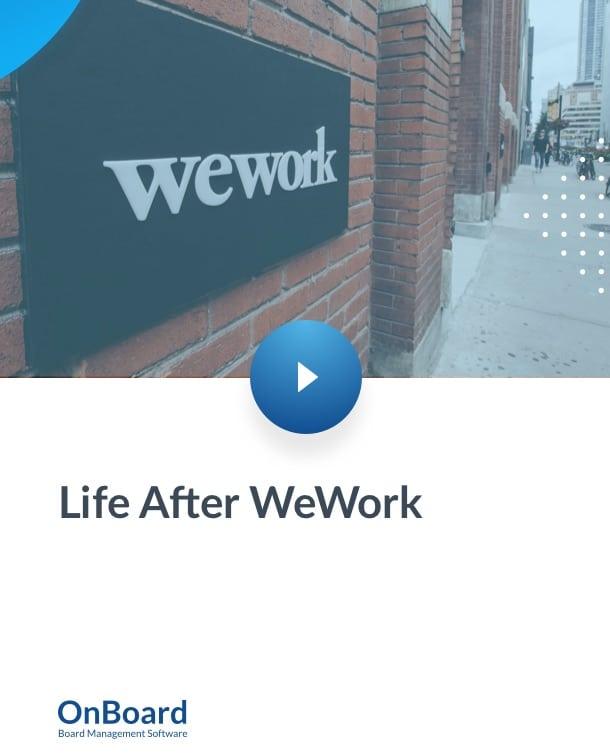 Life After WeWork