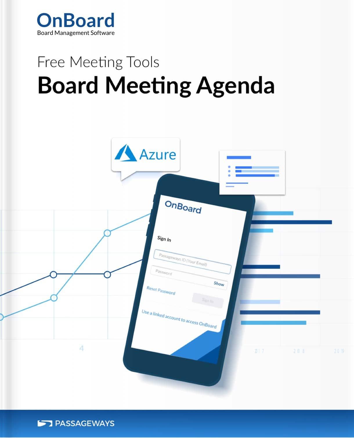 Free Board Meeting Agenda