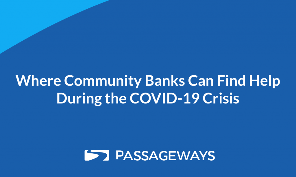 Text Box: Potential Headlines •	Where Community Banks Can Find Help During the COVID-19 Crisis •	How Community Banks Have Responded to COVID-19 and What's Next