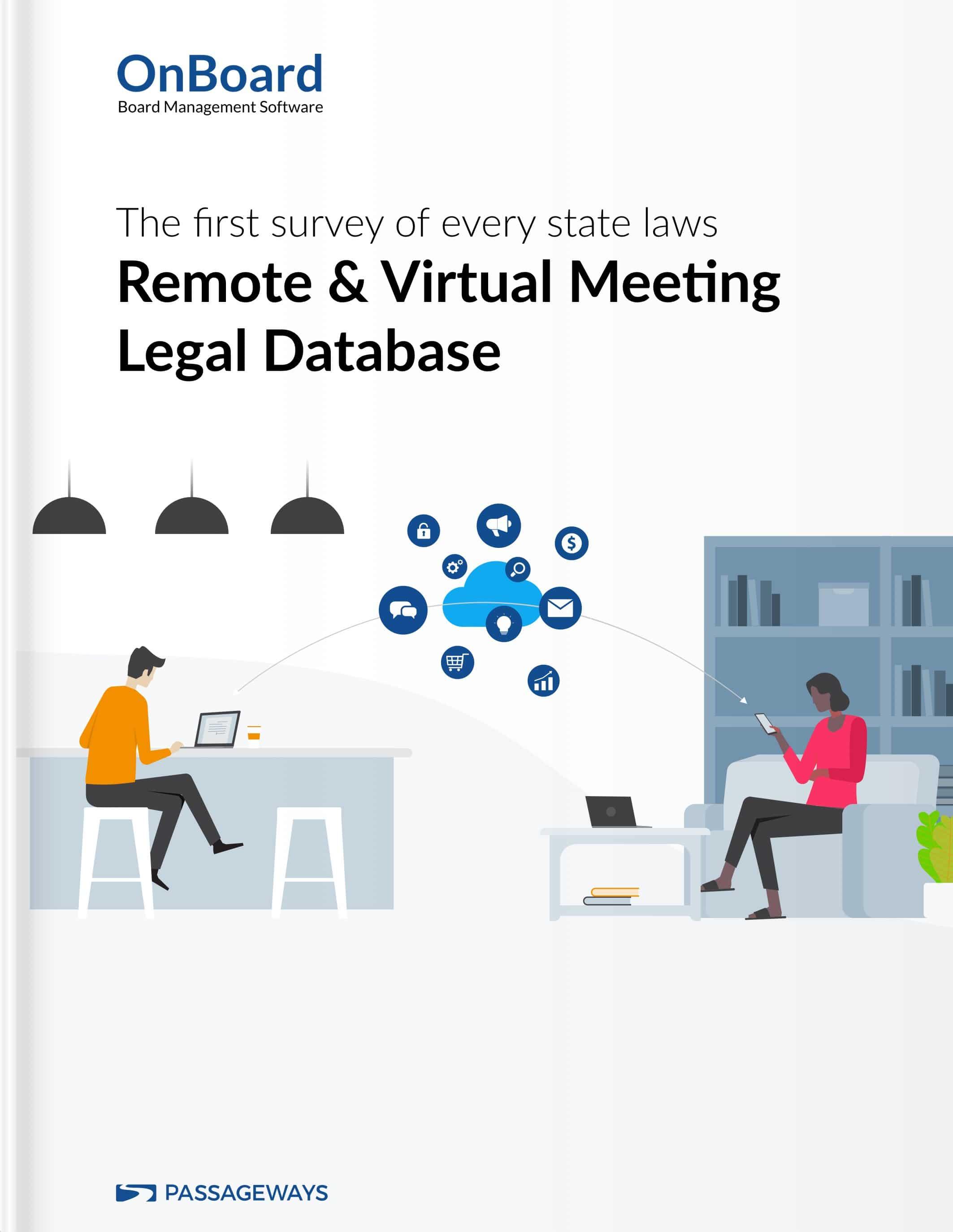 Remote & Virtual Meeting Legal Database