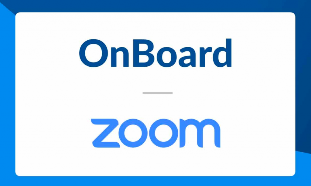 Introducing Zoom for OnBoard
