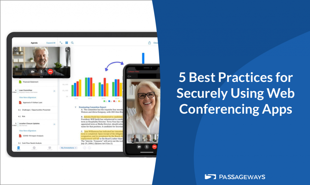 5 Best Practices for Securely Using Web Conferencing Apps