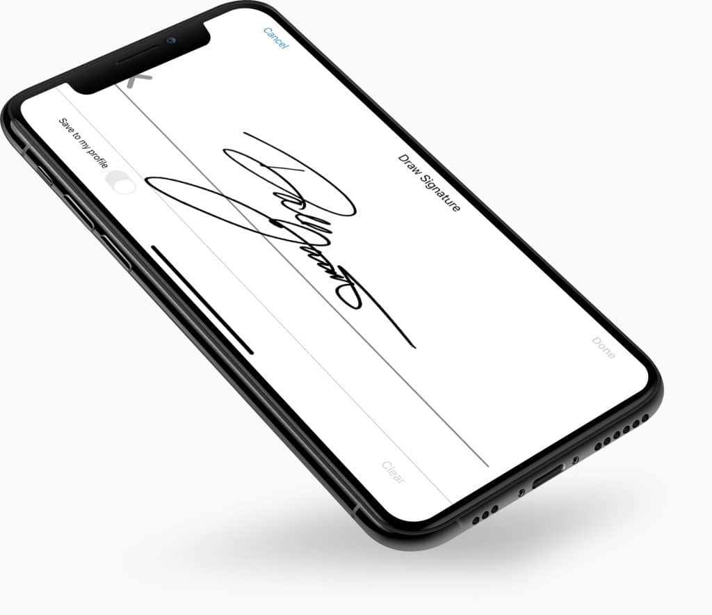 eSignatures Phone FAFA
