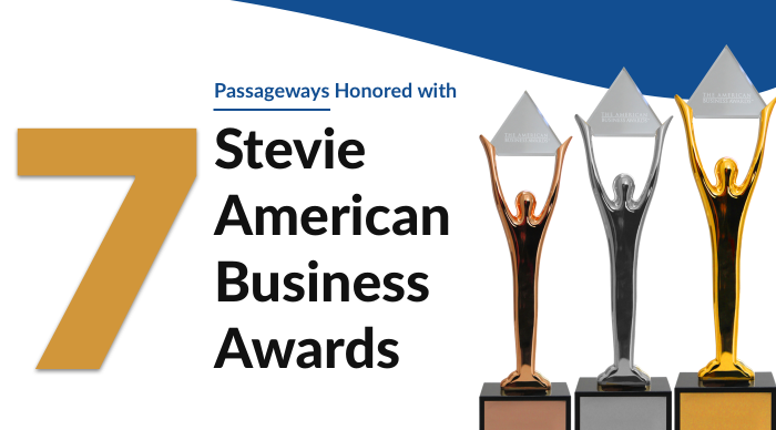 Passageways Honored to Win Seven Stevie® Awards at 2020 American Business Awards