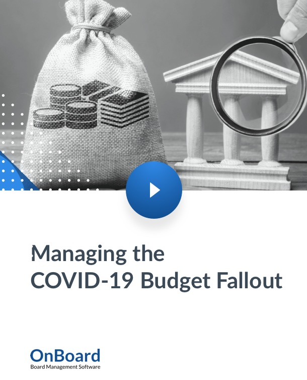 Managing the COVID-19 Budget Fallout