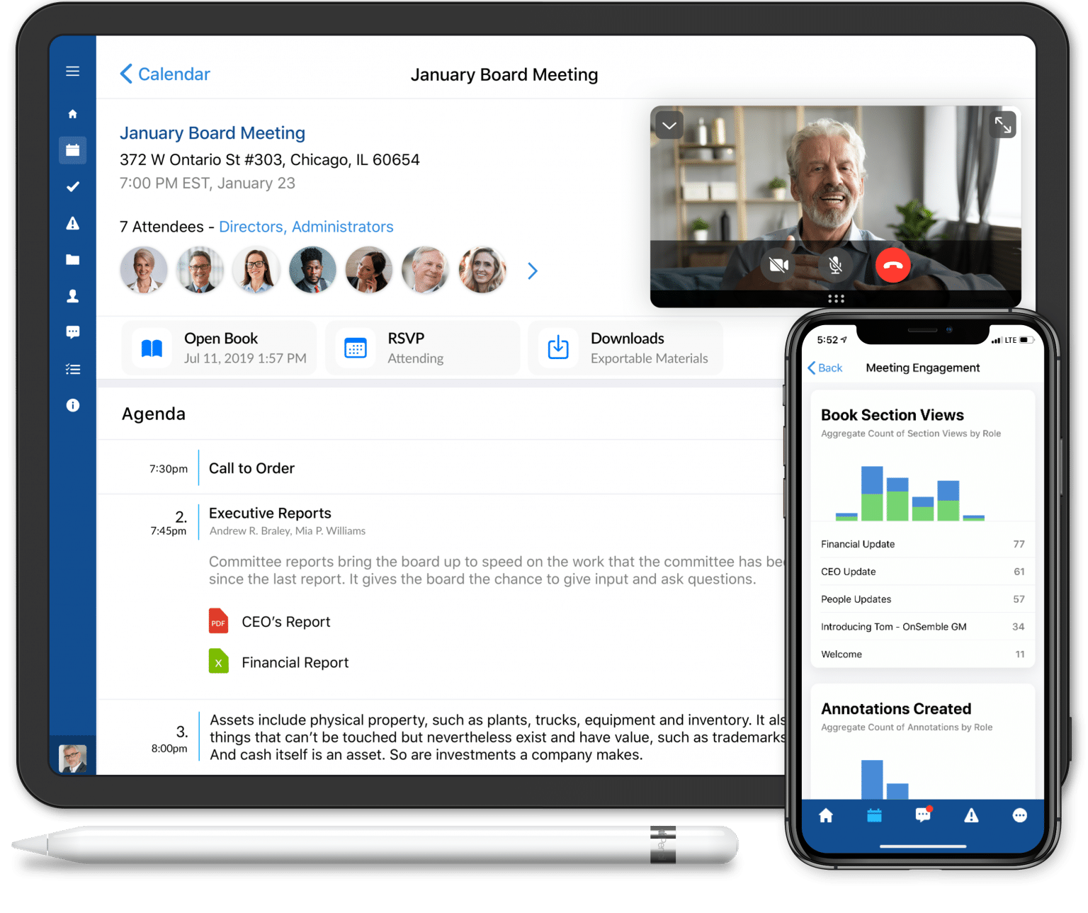 OnBoard Board Management Software for Virtual Meetings 2.0 @2x
