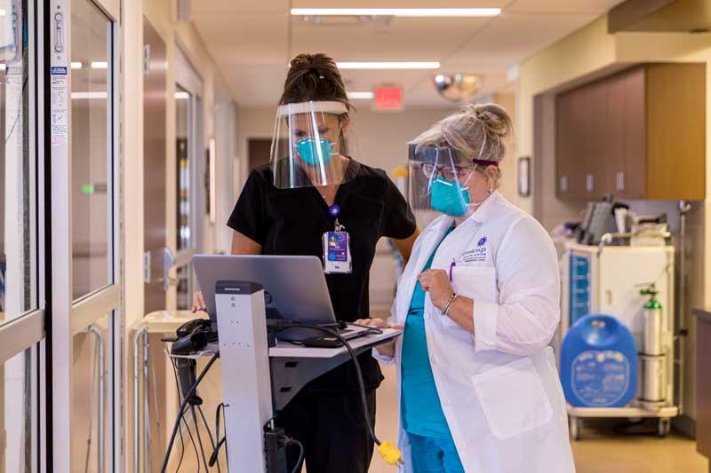 Brookings Health System - nurses and COVID