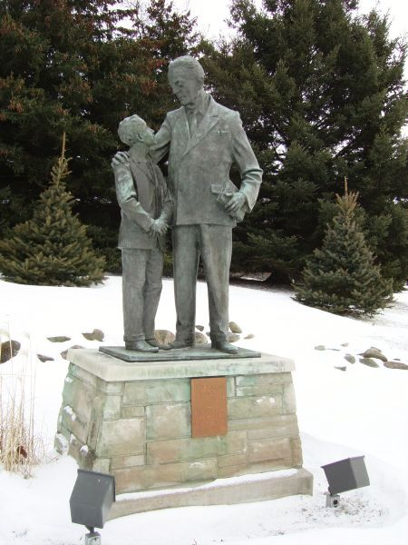 Starr Statue