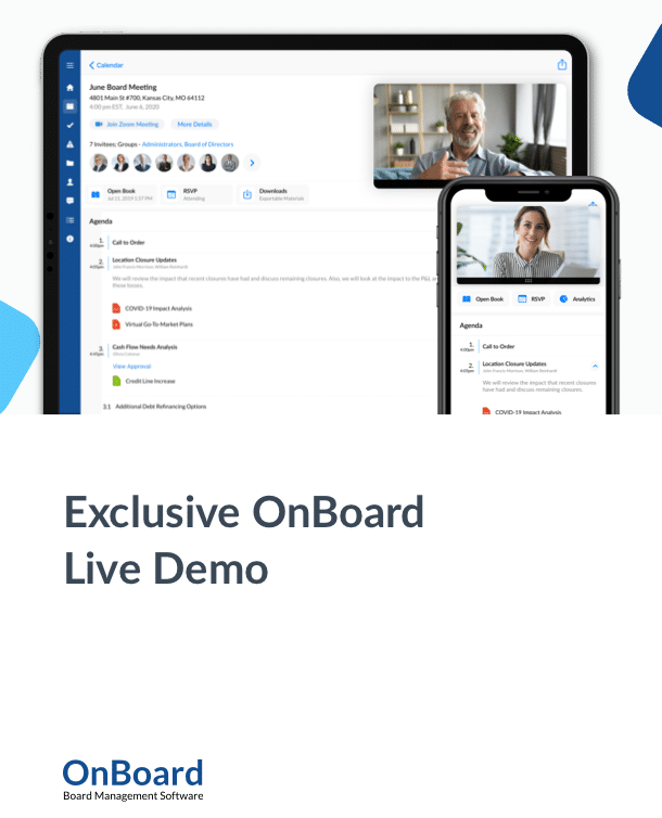 OnBoard Live Demo
