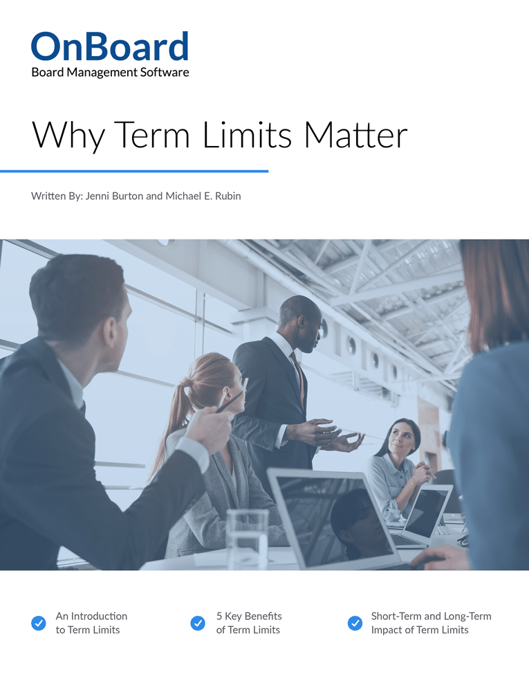 Why Term Limits Matter eBook Cover Art